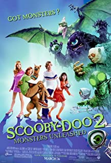 SCOOBY DOO 2 MONSTERS UNLEASHED MOVIE POSTER 2 Sided ORIGINAL 27x40