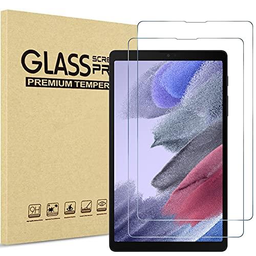(2 Pezzi) ProCase Pellicola Protettiva per Galaxy Tab A7 Lite 8.7 Pollici 2021[SM-T220 T225 T227], Vetro Temperato [Alta HD Trasparenza, Anti-Impronte Digitali Graffi Agli Urti Olio]