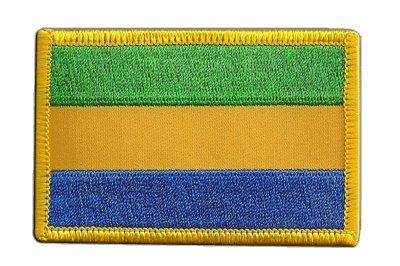 Aufnäher Patch Flagge Gabun - 8 x 6 cm