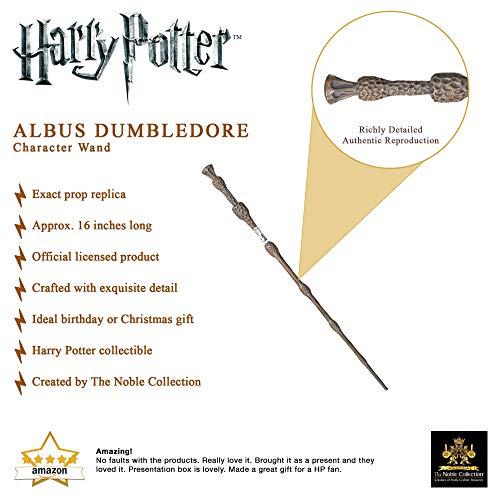 The Noble Collection Harry Potter Varita Mágica (Colección Personajes)