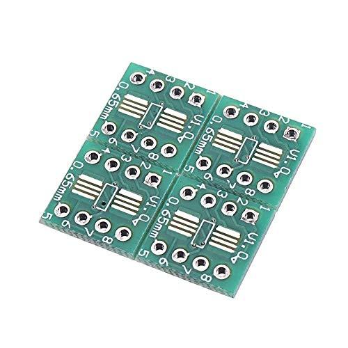 CLJ-LJ PC Components, 20pcs Interposer Module PCB Board Adapter Plate TSSOP8 SSOP8 SOP8 to DIP8