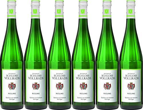 Schloss Vollrads Riesling Qualitätswein VDP.Gutswein 2018 Feinherb (6 x 0.75 l)