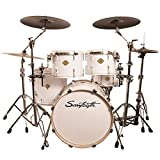 Sawtooth Command Series 5-Piece Drum Set Shell Pack, White