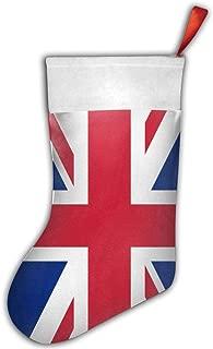 Bralla Union Jack Christmas Stockings for Holiday