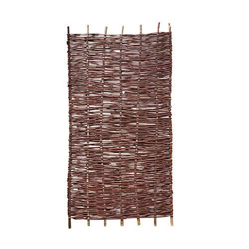 Weidenprofi Sichtschutz, Weidenzaun Modell Natur, Flechtzaun aus Weide, Größe (BxH): 90 x 180 cm