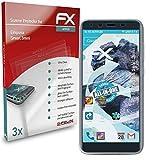 atFolix Schutzfolie kompatibel mit Emporia Smart.3mini Folie, ultraklare & Flexible FX Bildschirmschutzfolie (3X)