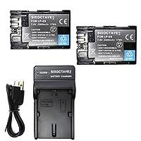 str キヤノン CANON LP-E6 LP-E6N LP-E6NH 互換バッテリー 2個と充電器USBチャージャーLC-E6 1個 の3点セット イオス EOS 70D/EOS 7D MarkII/EOS 6D Mark II/EOS 5D MarkII/EOS 60D/EOS 7D/EOS 5D MarkIII/EOS 5D Mark IV/EOS 60Da/EOS 5Ds R/EOS 80D/EOS R/XC15 /EOS Ra/EOS 90D/EOS R5/EOS R6/BG-R10