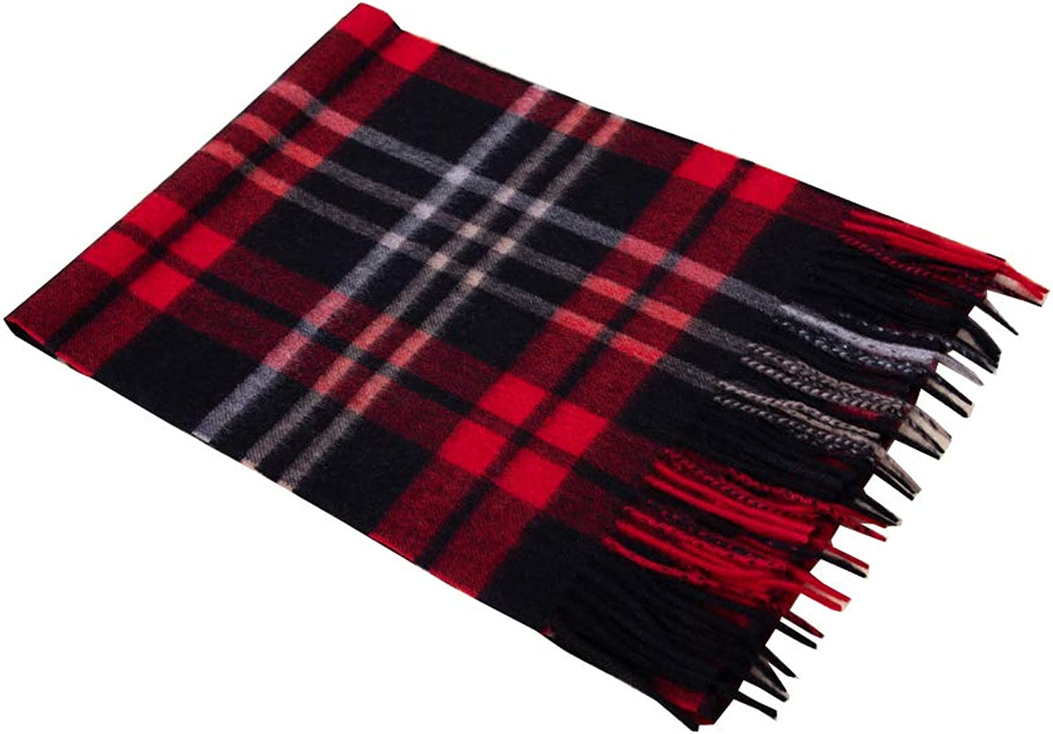 Cashmere Soft Tartan Shawl Wraps Large Winter Pashmina Stole Scarf With Gift Box
