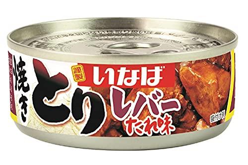 いなば食品 焼きとり レバー たれ味 65g ×6個