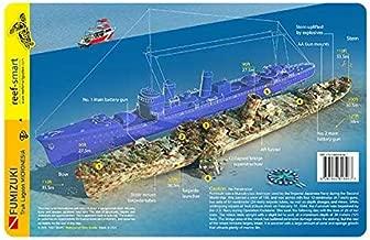 Fumizuki Destroyer Truk Lagoon Wreck Chuuk Waterproof Dive Card