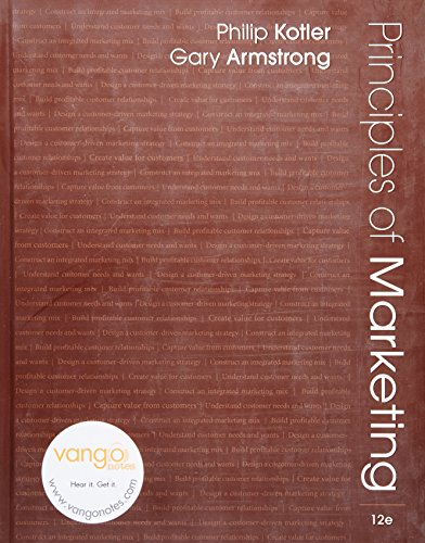 Principles of Marketing, 12th Edition