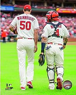 Adam Wainwright & Yadier Molina St. Louis Cardinals 2018 Action Photo (Size: 11