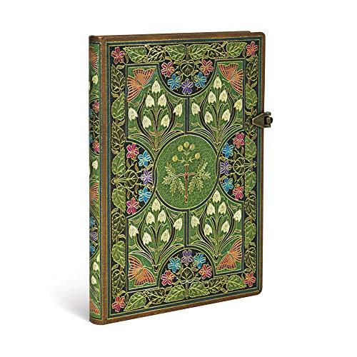 Paperblanks Blühende Poesie Notizbuch Midi Unliniert