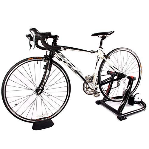 WYJW Soporte para Entrenador de Bicicleta, Soporte para Entrenador de Bicicleta para Interior, Entrenador de Bicicleta para Interior, para Bicicleta de Carretera, Entrenador Turbo magné