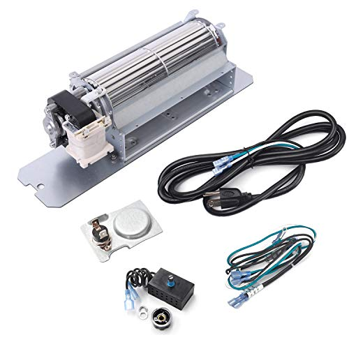 Criditpid Replacement Fireplace Blower Fan Kit for Napoleon, Continental, Rotom HB-RB58, GZ550 GZ552 Fireplace Blower for Napoleon Gas Fireplace, Quiet, High Air Flow, Energy Efficient