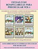 Libros para niños pequeños online (Fichas con rompecabezas para preescolar Vol 1): Este libro contiene 30 fichas con actividades a todo color para ... años (30) (Libros Para Ninos Pequenos Online)