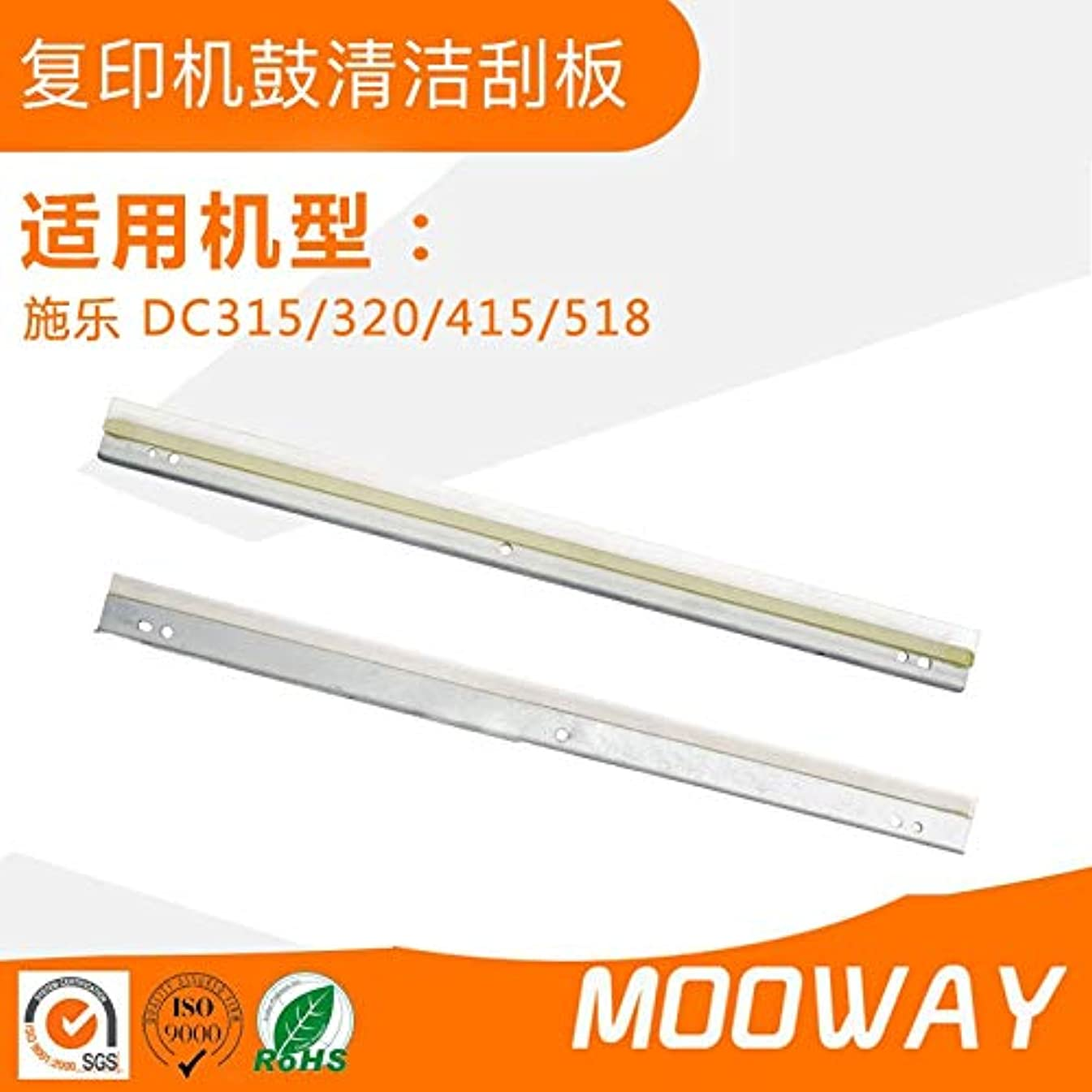 Printer Parts Compatible Cleaning Blade for Xerox Copier DC315 320 415 518 Drum Cleaning Scraper Blade