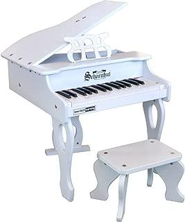 Schoenhut 30 Key Digital Baby Grand Piano, White