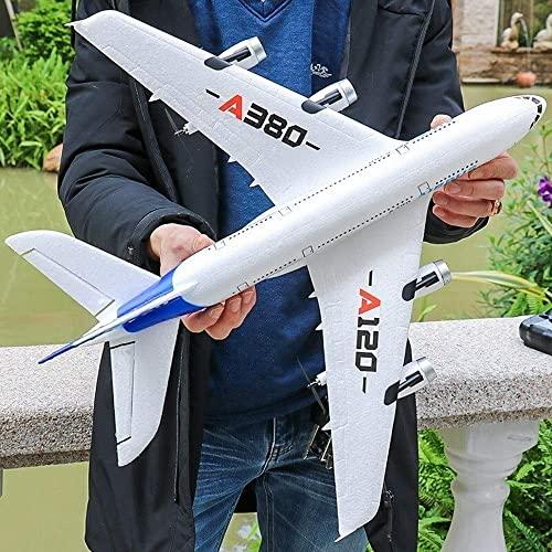 SSBH Aliante A 3 Canali Telecomando Modello Di Aeroplano Aereo Da Esterno Super Large Ad Alta Velocità Schiuma Elettrica Modello Ad Ala Fissa Aliante Per Adulti Bambini Ragazzi Ragazze Compleanno Rega