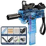 Soft Bullet Darts Gun Rifle Kids Toy Gun Plastic Weapon War Game Outdoor Game Live CS Automatic Shooting Toys Gun for Boys Adult (Blue(Tactical))