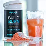 Build N Burn | Doctor Formulated Premium Fat Loss & Lean Muscle Builder | Targets Mind, Body & Soul | Vegan & Keto Friendly | Gluten & Soy Free (Tropical Flavor)