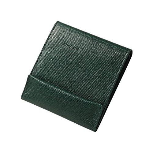 薄い財布 abrAsus(アブラサス)ダークグリーン