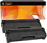 Cartridges Kingdom MLT-D111S Pack de 2 Cartouches de Toner compatibles pour Samsung Xpress M2020 M2020W M2021 M2021W M2022 M2022W M2026 M2026W M2070 M2070W M2070FW M2070F M2070FH M2070HW M2071 M2078