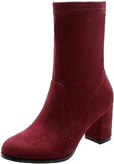 BalaMasa Womens ABS13925 Pu Boots