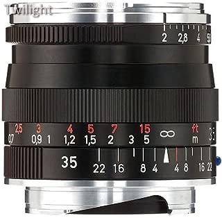 Zeiss 35mm f/2 ZM Biogon T Manual Focus Lens ( Black)
