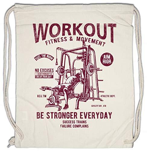 Urban Backwoods Be Stronger Everyday Turnbeutel Sporttasche