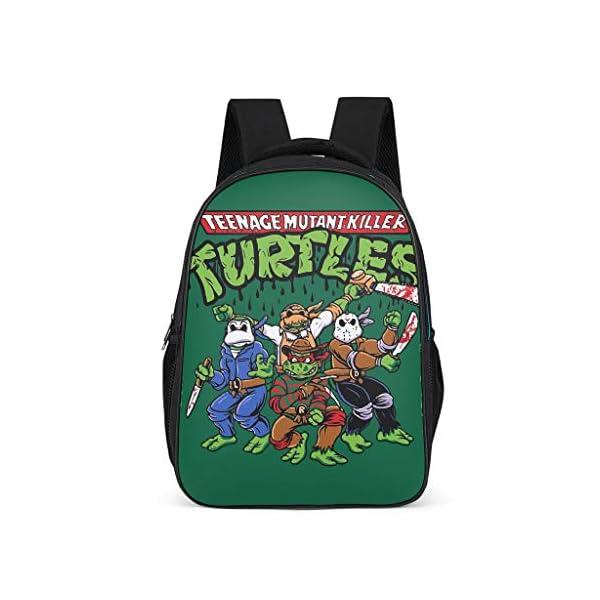 51jgfFTlkiL. SS600  - Mochila con Cuatro Tortugas Informales para niños – Ninja Tortuga Parte Trasera a la Escuela 2019 Mochila Daypack para…