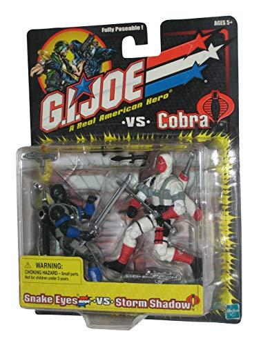 Snake Eyes vs. Storm Shadow - G.I. Joe vs Cobra Action Figure