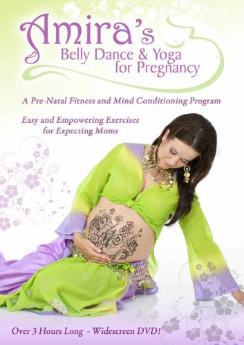 Amira's Belly Dance and Yoga for Pregnancy DVD, an Instructional Video for Prenatal Exercise and Workout