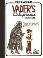 Vader's™ Little Princess Postcards: 30 Postcards (Illustrated Star Wars Greeting Cards for Father and Daughter, Gift for Star Wars Dad) (Vaders Little Princess Station)