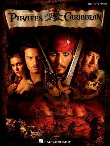 Fluch der Karibik - Pirates of the Caribbean (Big Note Piano) - Klaviernoten [Musiknoten]