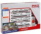 Piko 57194 Train Ice 3 HO - Set de Tren (Contiene locomotoras, raíles y Mando, Escala HO, no Necesita Pilas, Importado de Alemania)