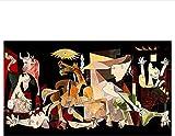 liujiu Berühmte Picasso Guernica Kunst Leinwand Malerei