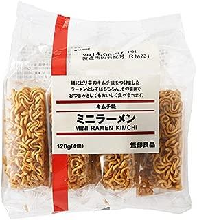 良品計画 キムチ味 ミニラーメン120g×10袋