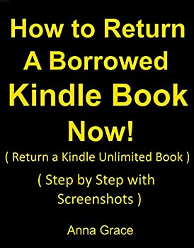 How to Return a Borrowed Kindle Book Now  Step by Step with Screenshots