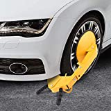 Oanon Wheel Lock Car Boot Clamp Tire Lock Adjustable Anti-Theft Wheel Lock Parking Boot Claw for Trailer Car, Truck, ATV, RV, Boat (Large)