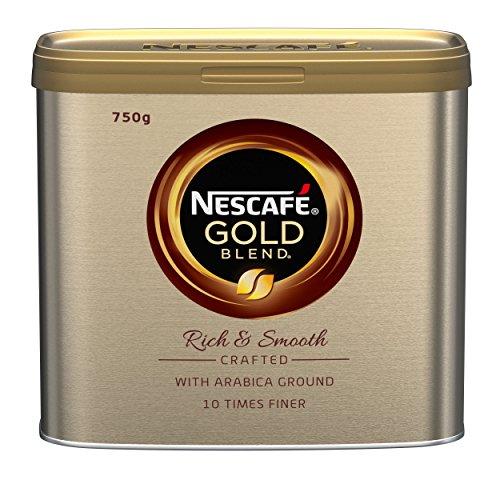 Nescafé 18318 Gold Blend Coffee, 750g Gewicht