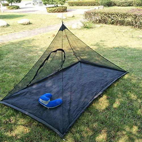 WFGT Rechteckiges Camping-Moskitonetz leichte und Starke Moskitonetzabdeckung Einfach zu installierende tragbare Reise-Moskitonetzabdeckung Moskitonetz zum Wandern Angeln