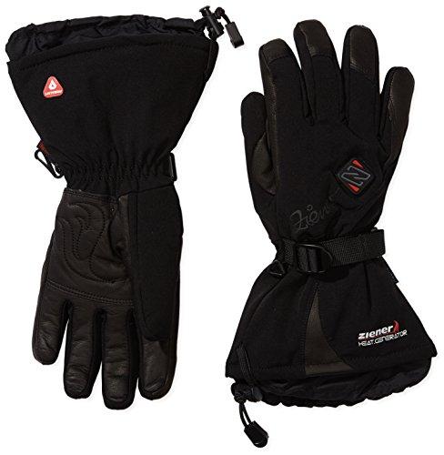 Ziener Damen Handschuhe Kanani AS PR Hot Gloves Lady Damenhandschuhe, Black, 7.5