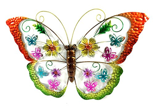 Bejeweled Display® Colorful Butterfly Wall Art Plaque & Home Decor