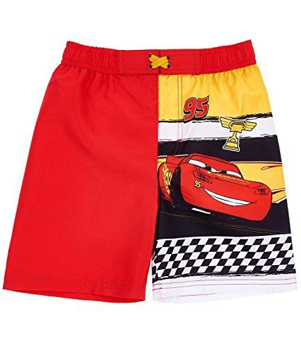 Disney Cars Jungen Badehose - rot - 128