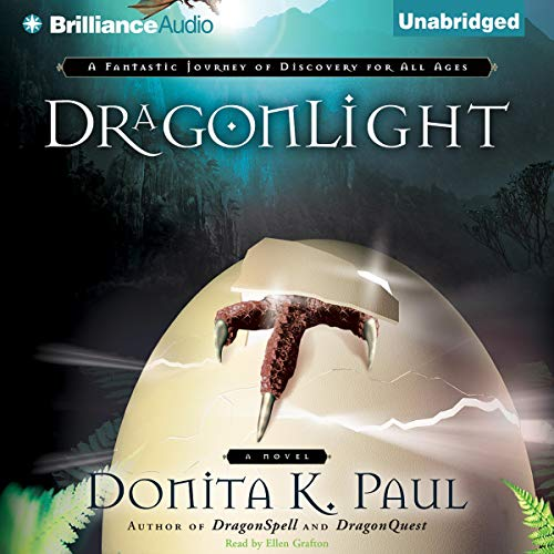 DragonLight audiobook cover art