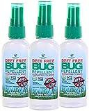 GREENERWAYS ORGANIC Insect Repellent Travel Size, Premium, USDA Organic, DEET-Free, Natural, Mini Repellent Spray, Travel Size Repellent, Mosquito-Repellant, Bug Spray 3-Pack - (3) 2oz - MSRP 23.97…