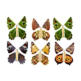 Toyvian Divertenti Farfalle Volanti Giocattoli puntello Magico Giochi da Esterno per Bambini Colore Casuale 6 Pezzi