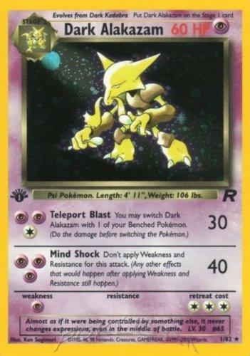 Pokemon - Dark Alakazam (1) - Team Rocket - Holo