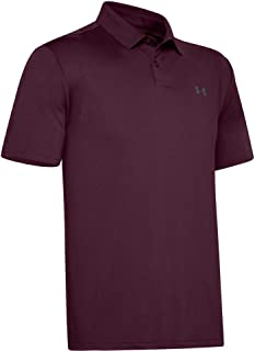 Under Armour Men's Performance 2.0 Golf Polo , Maroon (609)/Pitch Gray , X-Large